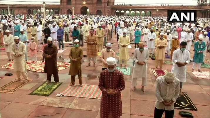 India Tv - Eid al-Adha celebrations in Delhi