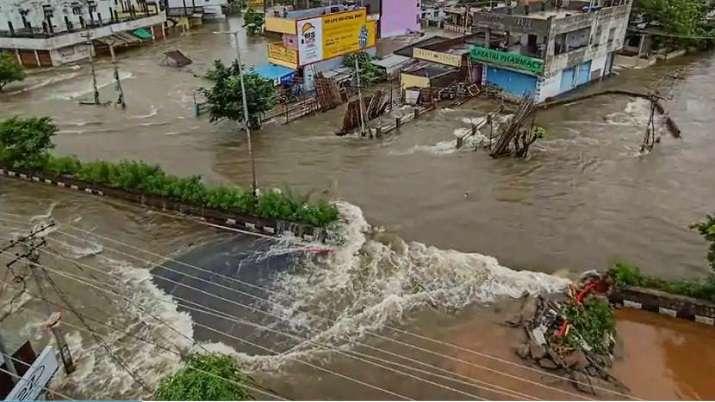 India Tv - Flood in India