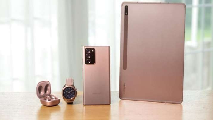 Samsung Galaxy Note 20 Series Galaxy Z Fold 2 Galaxy Tab S7 Series And More Launched Know Details Technology News India Tv