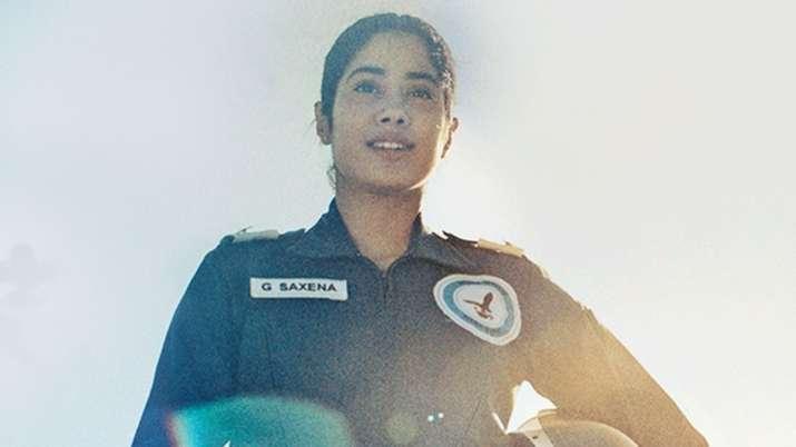 Janhvi Kapoor exudes confidence as IAF pilot in Gunjan Saxena: The Kargil Girl new song Asmaan Di Pa