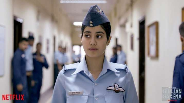 Gunjan Saxena The Kargil Girl Movie Review Set Piece Biopic Manages To Regale
