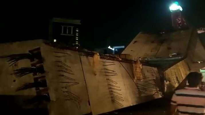 India Tv - Gurugram flyover collapse