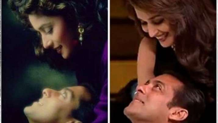 Hum Aapke Hain Koun completes 26 years: Madhuri Dixit shares throwback picture with Salman Khan