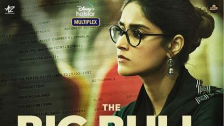 The Big Bull: Ileana D'Cruz oozes intriguing vibes in first look poster from Abhishek Bachchan starr
