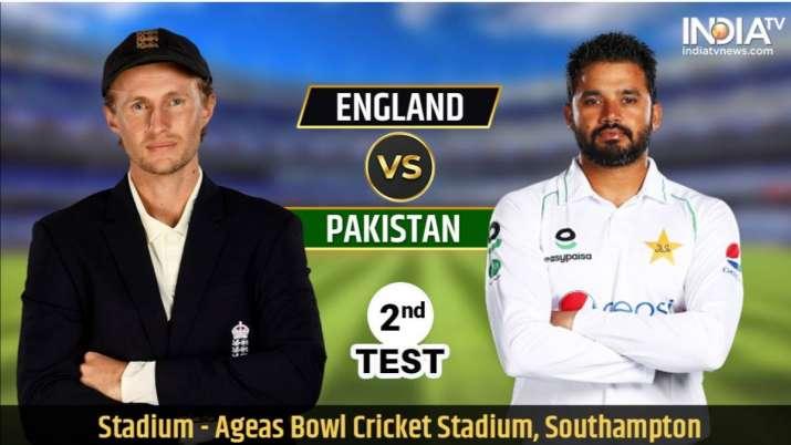 Live Streaming Cricket, England vs Pakistan 2nd Test: Watch ENG vs PAK stream live cricket match onl