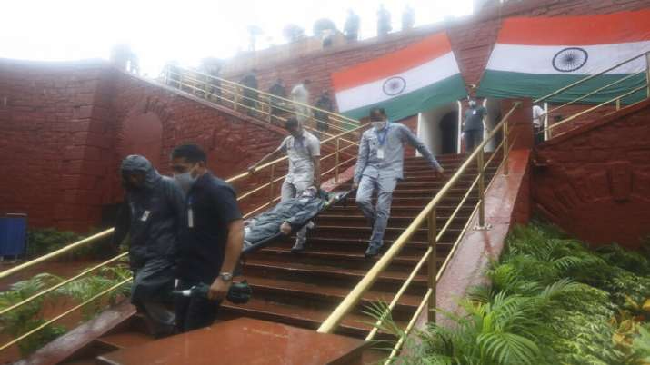 India Tv - Independence Day, Independence Day rehearsal photos