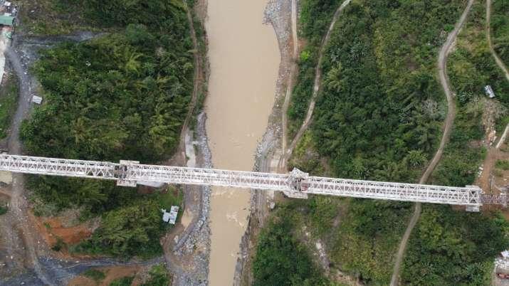 Indian Railways, Manipur, tallest pier bridge