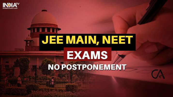 JEE Main postponement, NEET postponement, JEE NEET postponement, JEE Main NEET exams postponement, s