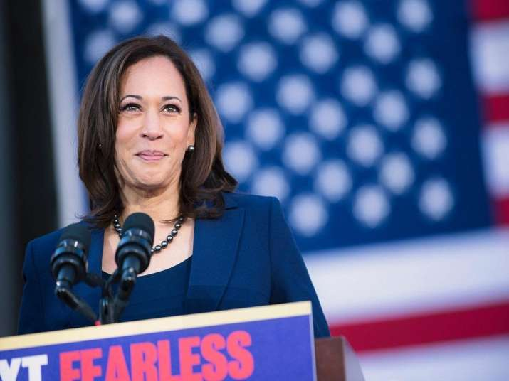Kamala Harris to hit out at Trump in her VP acceptance speech