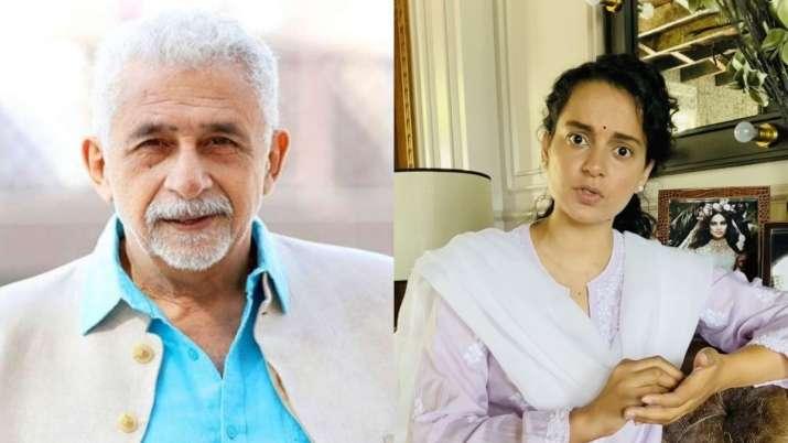 Naseeruddin Shah calls Kangana Ranaut 'half-educated starlet.' Manikarnika actress reacts