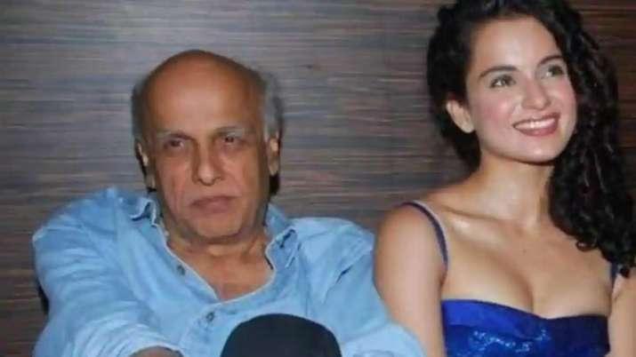 India Tv - picture of mahesh bhatt and kangana ranaut relationship