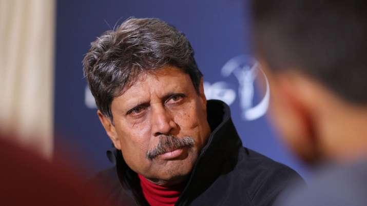 Former Indian cricketer Kapil Dev