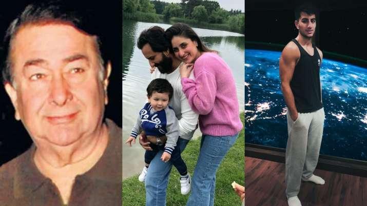 Randhir Kapoor, Ibrahim react to news of Kareena, Saif Ali Khan expecting second child