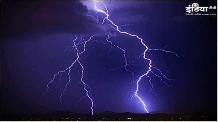 IMD warns of lightning strikes in Madhya Pradesh, 89 dead in 6 months