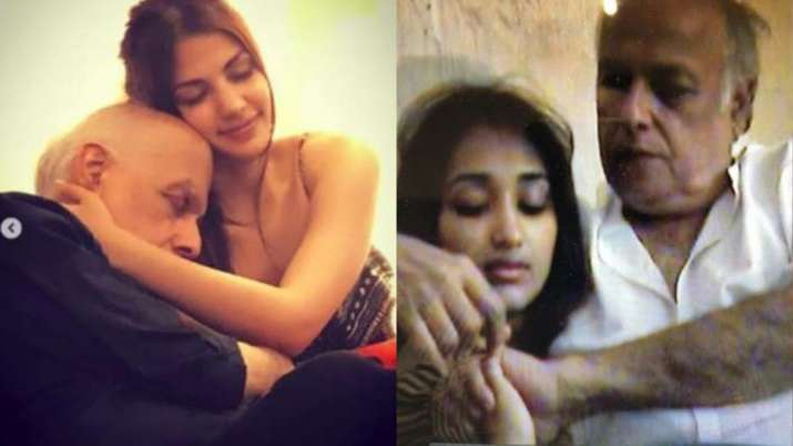 From the recent video of him with late actress Jiah Khan, viral pictures with Rhea Chakraborty to an