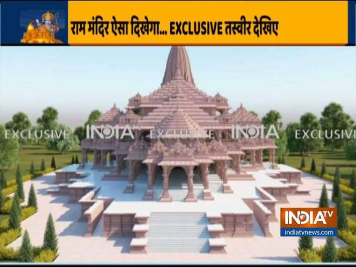 India Tv - Here's how will Ram Temple look