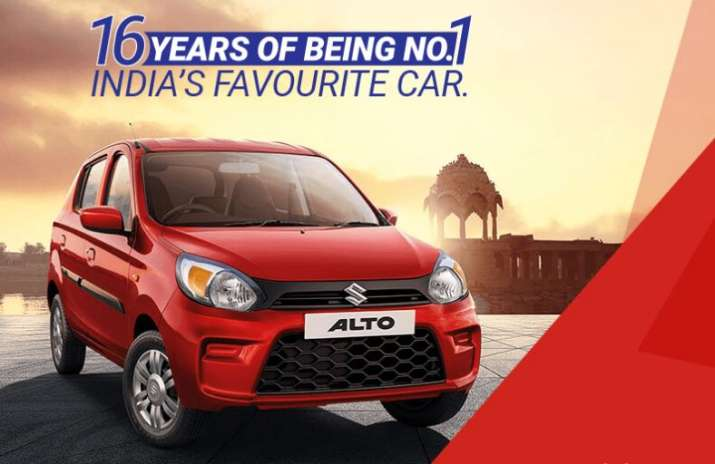 Maruti Alto has been the most selling car for last 16 years and is popular among first-time years.