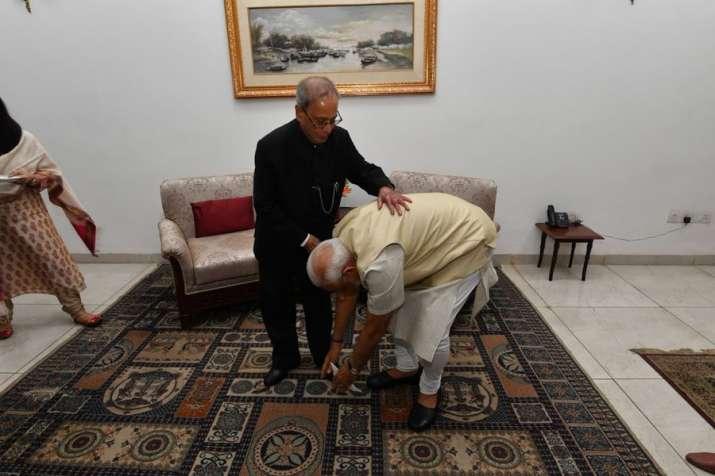PM Modi condoles Pranab Mukherjee's death, says 'India grieves the passing away of Bharat Ratna'
