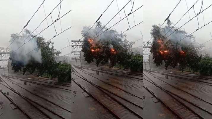 Mumbai Rains,mumbai rains, mumbai rains western railway,Mumbai Central stopped, mumbai rains today,