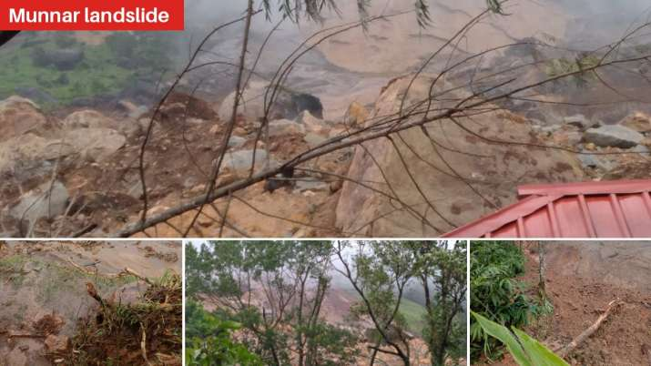Munnar Landslide: 10 killed, several others feared trapped; heavy rain alert in Kerala