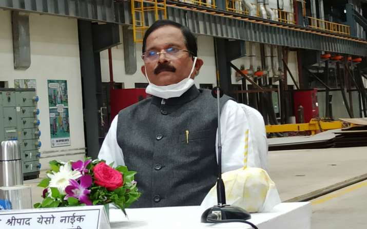 Union Minister Shripad Y Naik tests positive for COVID-19