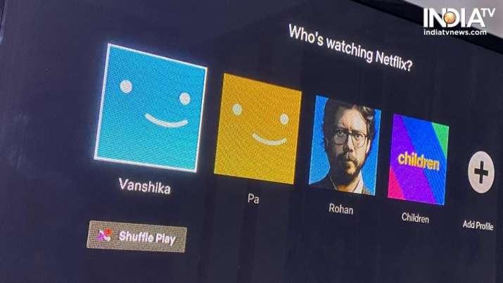 India Tv - netflix, netflix for web, netflix new shuffle button, new netlfix feature, netflix new feature, tech