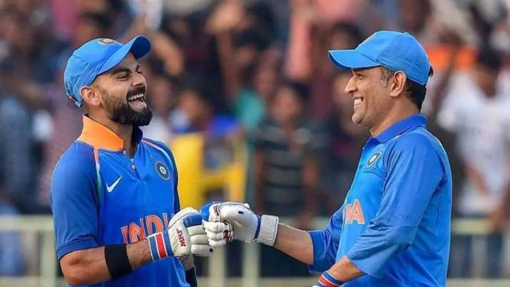 Virat Kohli thanks MS Dhoni for 'memories'