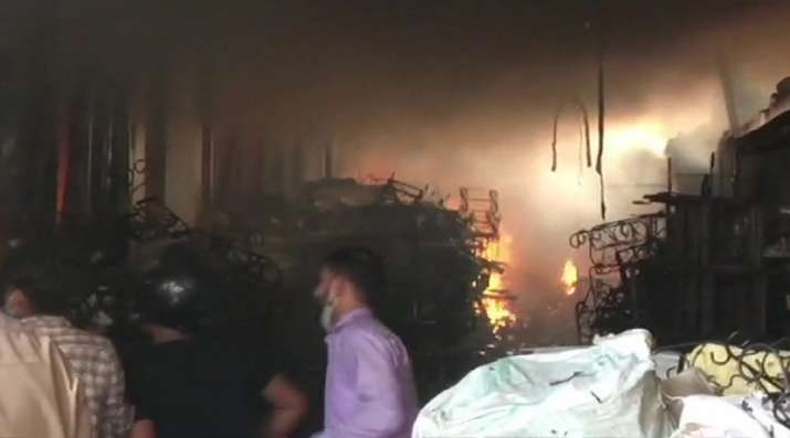 Noida: Fire breaks out at toy company in Sector 63