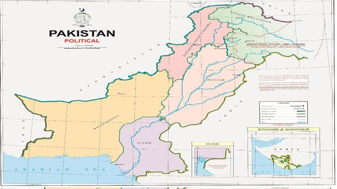 """India Tv - Pakistan Prime Minister Imran Khan on Tuesday unveiled a new """"political map of Pakistan"""" that counts"""