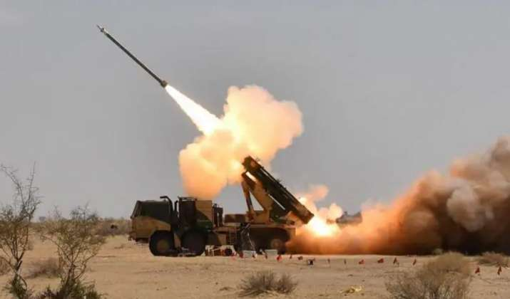 Defence Research and Defence Organisation had successfully test fired the indigenously developed Pin