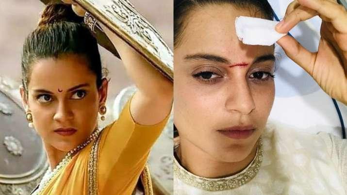 Kangana Ranaut recalls first day of Manikarnika shoot when she got hit on head, shares picture