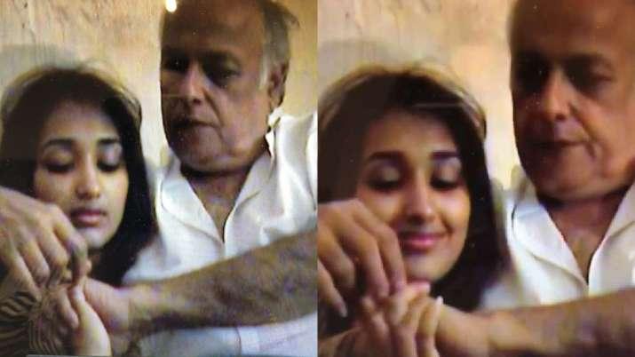 When Mahesh Bhatt's old video with 16-year-old Jiah Khan broke the internet