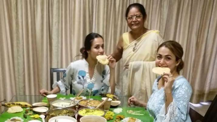 Inside Malaika Arora's Onam 2020 celebrations with sister Amrita Arora and family (PICS)