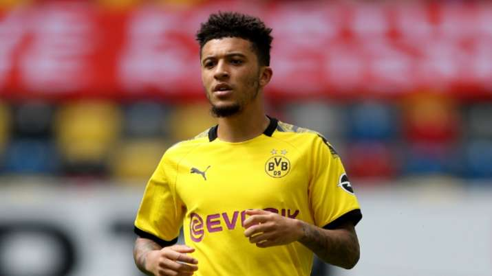 Manchester United set to fork out 108 million pounds to land Jadon Sancho: Report