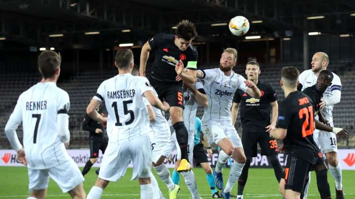 Manchester United Vs Lask Live Streaming Europa League In India Watch Man Utd Vs Lask Live Football Match On Sonyliv Football News India Tv