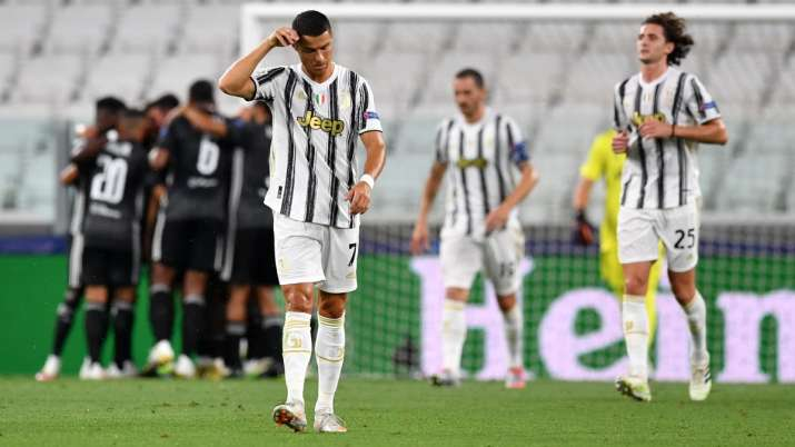 Champions League Cristiano Ronaldo Out Of Juventus Match Against Barcelona Football News India Tv