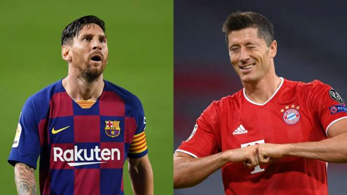 Barcelona Vs Bayern Munich Lionel Messi Vs Lewandowski 2 Heavyweights In Contrasting Form To Lock Horns Ucl Quarters Football News India Tv