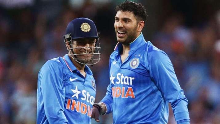 Yun hi chala chal Mahi': Watch Yuvraj Singh's heartfelt tribute to MS Dhoni | Cricket News – India TV