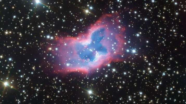 ESO Telescope captures extremely rare 'Space Butterfly'