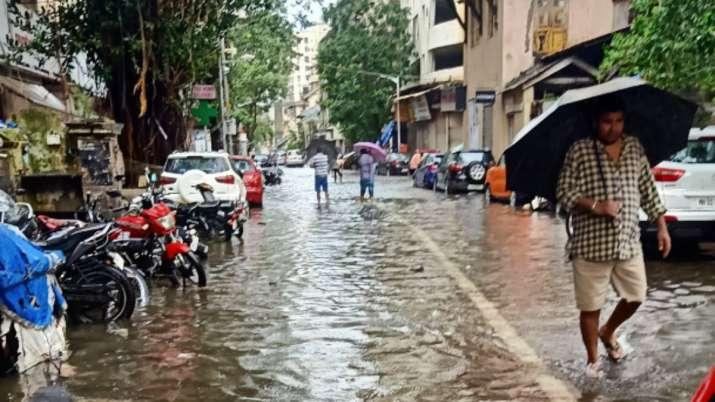 Mumbai Rains: Suburban train services suspended between Bandra-Churchgate after heavy downpour