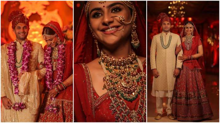 Diya Aur Baati Hum actress Prachi Tehlan marries Rohit Saroha, see stunning wedding pics