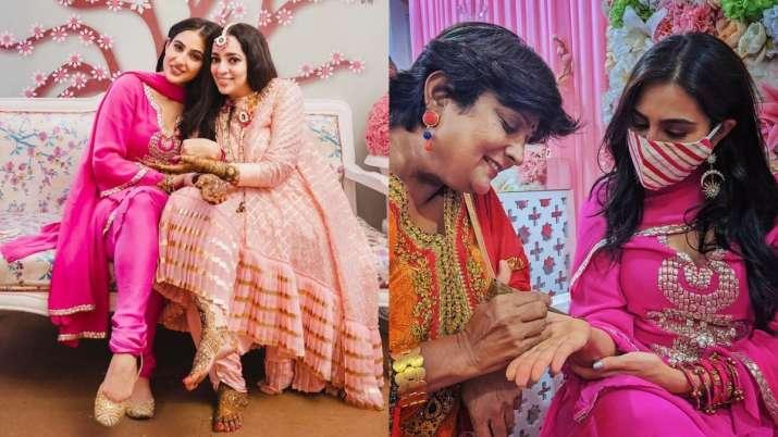 Sara Ali Khan turns bridesmaid for JP Dutta's daughter Nidhi