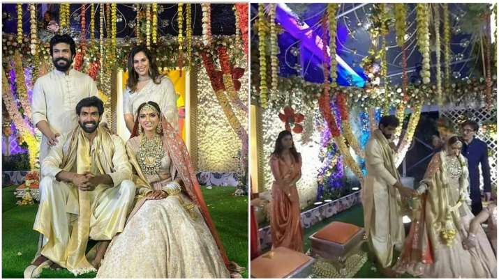 First pictures, videos from Rana Daggubatti and Miheeka Bajaj's wedding out