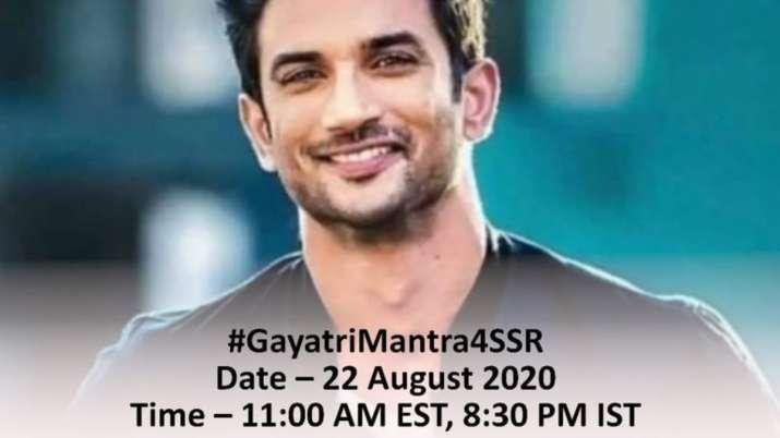 Sushant Singh Rajput's family to hold global prayer meet #GayatriMantra4SSR on Saturday