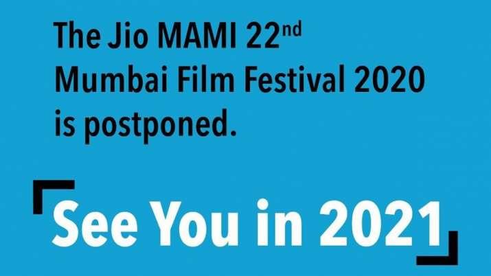 Jio MAMI Mumbai Film Festival postponed to 2021