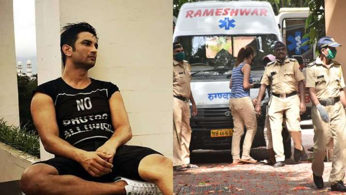 Who is the 'mystery woman' spotted outside Sushant Singh Rajput's residence on June 14?