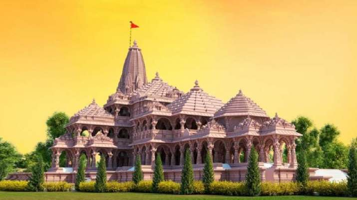 Proposed model of Ram Janmbhoomi Mandir in Ayodhya