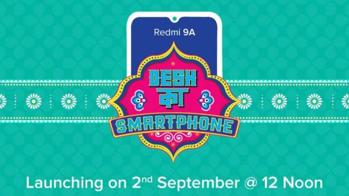 Redmi 9A India launch set for September 2: Here's what to expect - India TV News