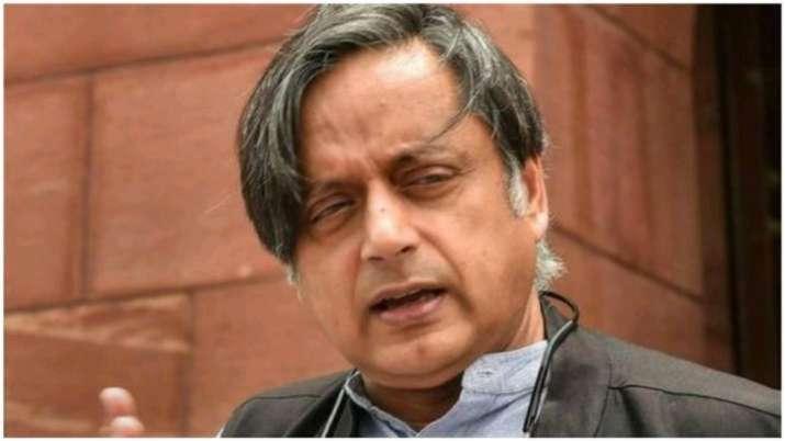 Shashi Tharoor, Sonia Gandhi, Rahul Gandhi