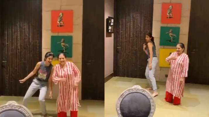 Shilpa Shetty can't keep calm as it's her mother-in-law's 69th birthday. Watch video